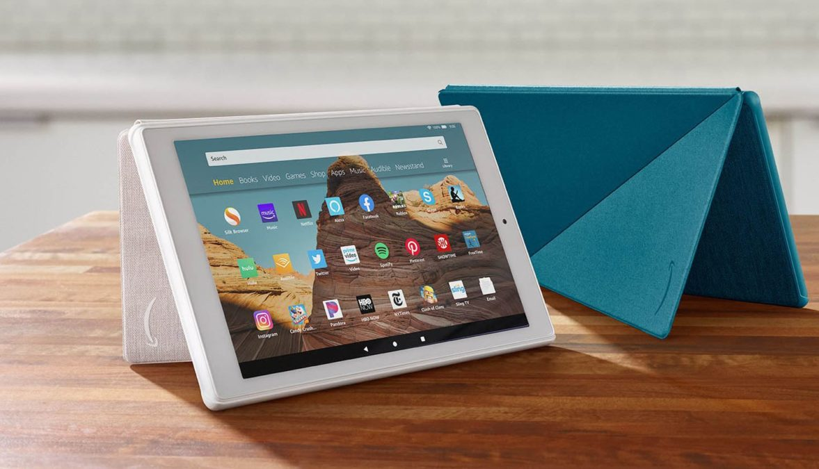 Amazon Fire HD 10 Tablet Promo Image